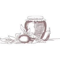 Matriz de bordado copa e cozinha 30