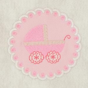 Matriz de bordado molduras baby 2