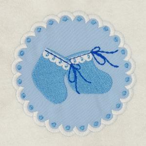 Matriz de bordado molduras baby 6