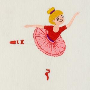 Matriz de bordado Bailarina 35