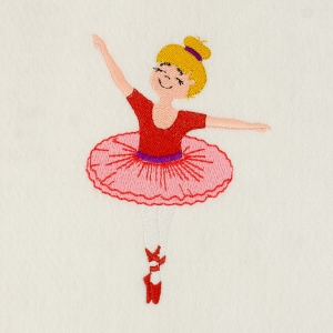 Matriz de bordado Bailarina 36