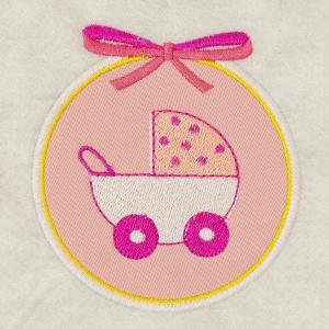 Matriz de bordado molduras baby 9