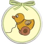 Matriz de bordado molduras baby 10