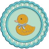 Matriz de bordado molduras baby 14