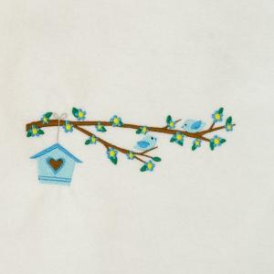 Matriz de bordado casinha de passarinhos 8