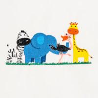 Matriz de bordado safari baby 3