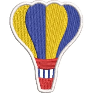 Matriz de bordado Balão 1