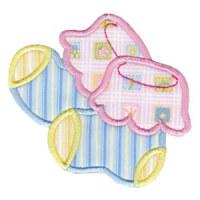 Matriz de bordado Aplique Baby 05