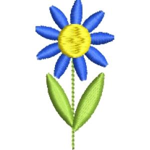 Matriz de bordado florzinha mini 5