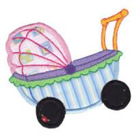 Matriz de bordado Aplique Baby 09