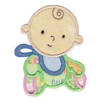 Matriz de bordado Aplique Baby 17