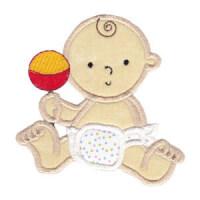 Matriz de bordado Aplique Baby 19