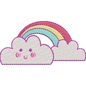 Matriz de bordado Nuvem 4