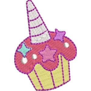 Matriz de bordado cupcake 50