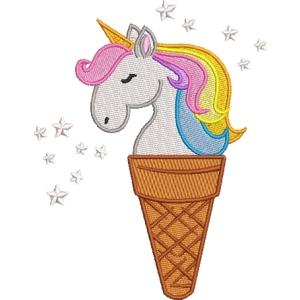 Matriz de bordado unicornio 7