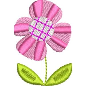 Matriz de bordado flor 268
