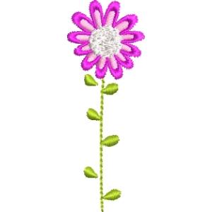 Matriz de bordado flor 269