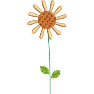 Matriz de bordado flor 272