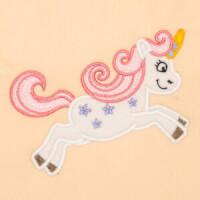 Matriz de bordado unicornio aplique 3