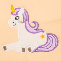 Matriz de bordado unicornio aplique 4