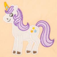 Matriz de bordado unicornio aplique 1