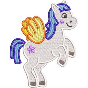 Matriz de bordado unicornio 22