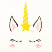 Matriz de bordado unicornio 24