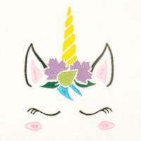 Matriz de bordado unicornio 26