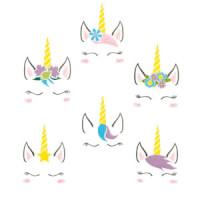 Matriz de bordado Pacote Rostinho Unicornio