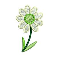 Matriz de bordado flor 285