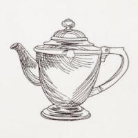 Matriz de bordado xícara 10