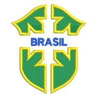 Matriz de bordado Brasil