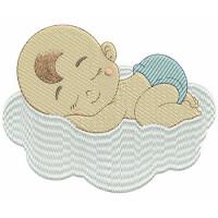 Matriz de bordado Baby 204