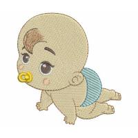 Matriz de bordado Baby 205