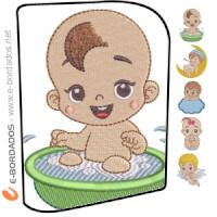 Matriz de bordado Pacote Baby
