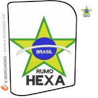 Matriz de bordado Pacote Brasil Hexa