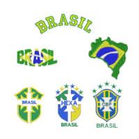 Matriz de bordado Pacote Brasil