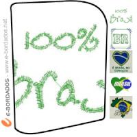Matriz de bordado Pacote eu amo o Brasil 2