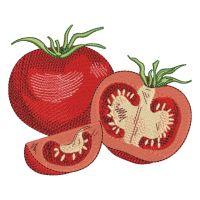 Matriz de bordado Tomates