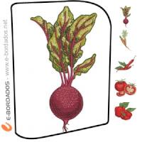 Matriz de bordado Pacote Legumes e Vegetais