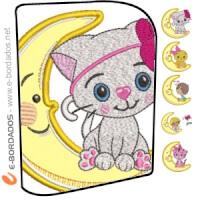Matriz de bordado Pacote Infantil Aplique
