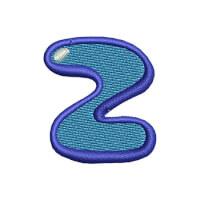 Matriz de bordado Letra Z Kids