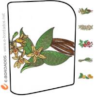 Matriz de bordado Pacote de Bordados Hora do Chá