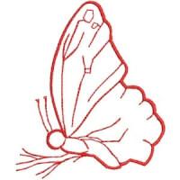 Matriz de bordado borboleta 13