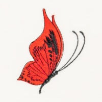 Matriz de bordado borboleta 52
