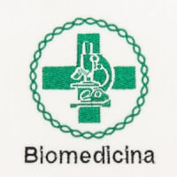 Matriz de bordado biomedicina