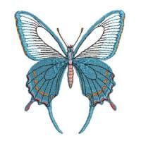 Matriz de bordado borboleta 18