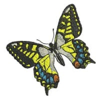 Matriz de bordado borboleta 21