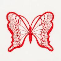 Matriz de bordado borboleta 22
