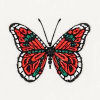 Matriz de bordado borboleta 23
